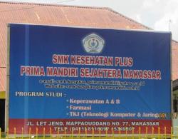 SMK Kesehatan Plus Prima Mandiri Sejahtera