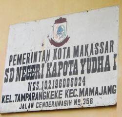 SD Negeri Kapota Yudha 1 Makassar