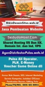 Hosting Murah Indonesia SedudoHost.com