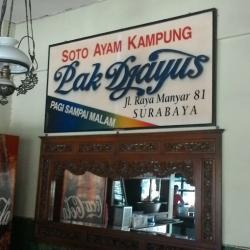 Soto Ayam Pak Jayus Surabaya