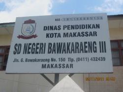 SD Negeri Bawakaraeng 3 Makassar