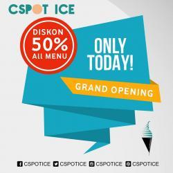 Cspot Ice Cream Cabang Perintis