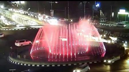 Air Mancur Simpang Bandara Makassar - Makassar, Sulawesi Selatan
