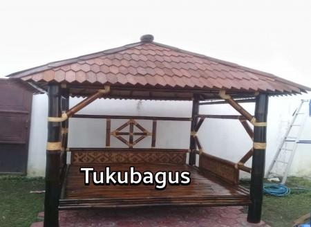 Toko Gazebo Bambu di Mojokerto