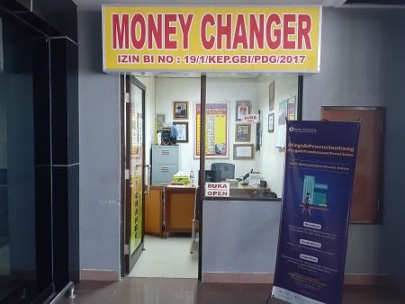 Money Changer BIM - PT. Cahaya Valuta Perkasa - Padang Pariaman