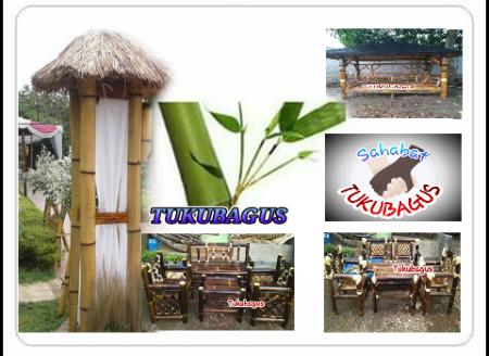 Kursi Bambu Tukubagus (Pengerajin Produk dari Bambu)