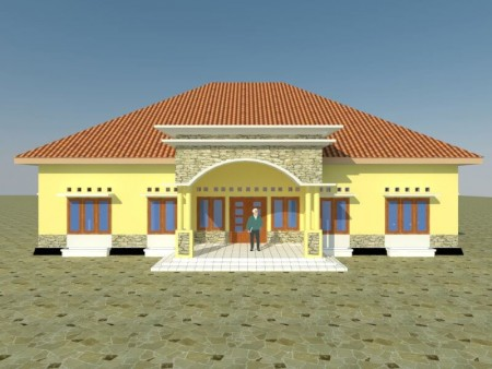 Kantor Kelurahan Waihaong - Ambon, Maluku