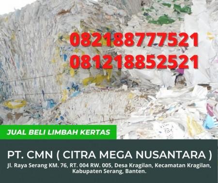 PT. Citra Mega Nusantara - Jual Beli Limbah Kertas - Serang, Banten